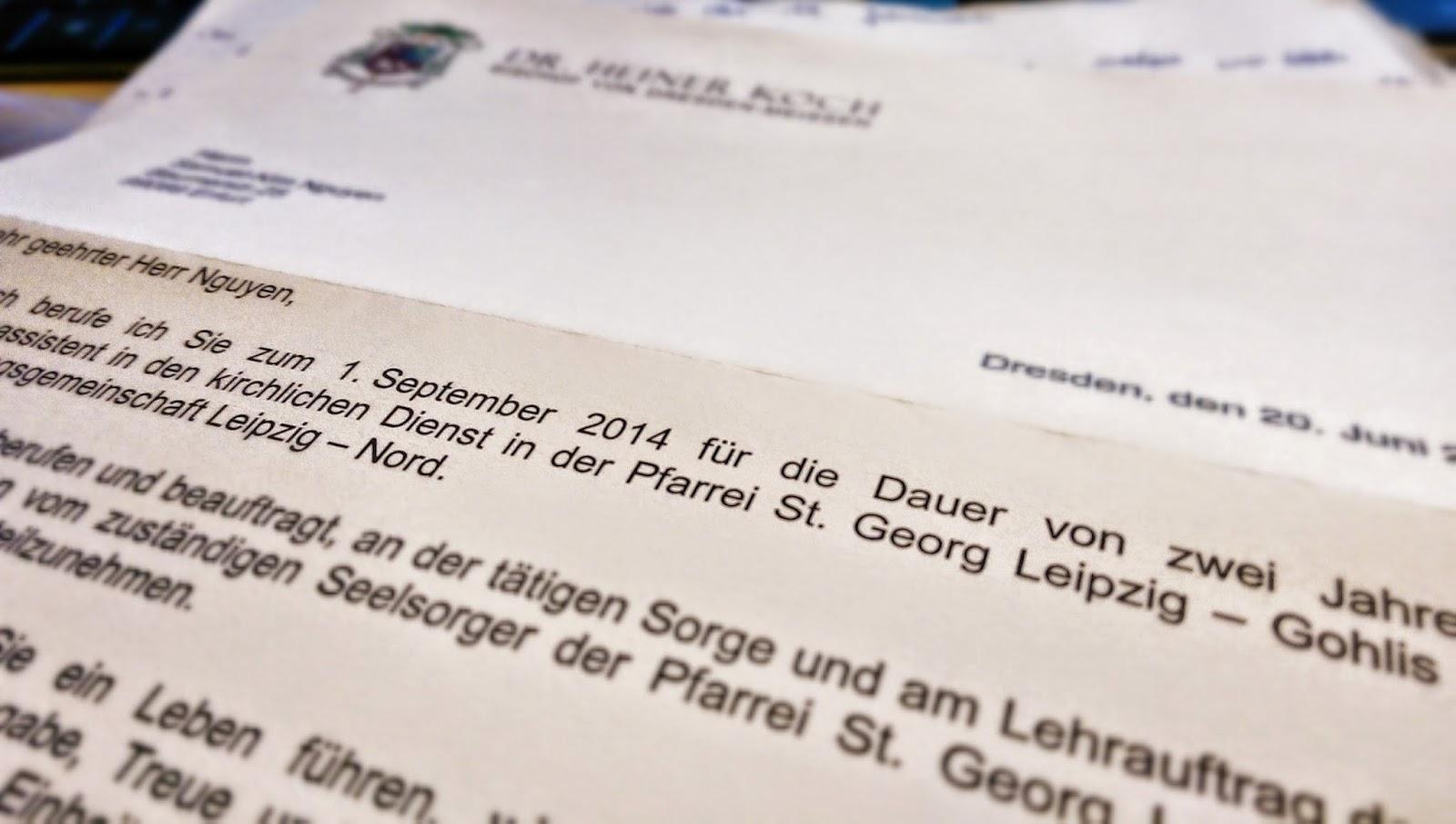 Leipzig-Gohlis, ich komme!
